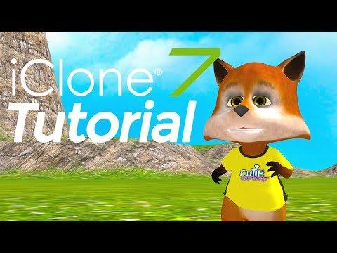iClone 7 animation tutorial