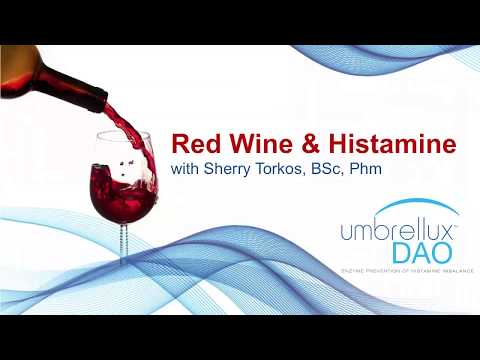 Red Wine Allergy And Histamine Intolerance Webinar - Sherry Torkos