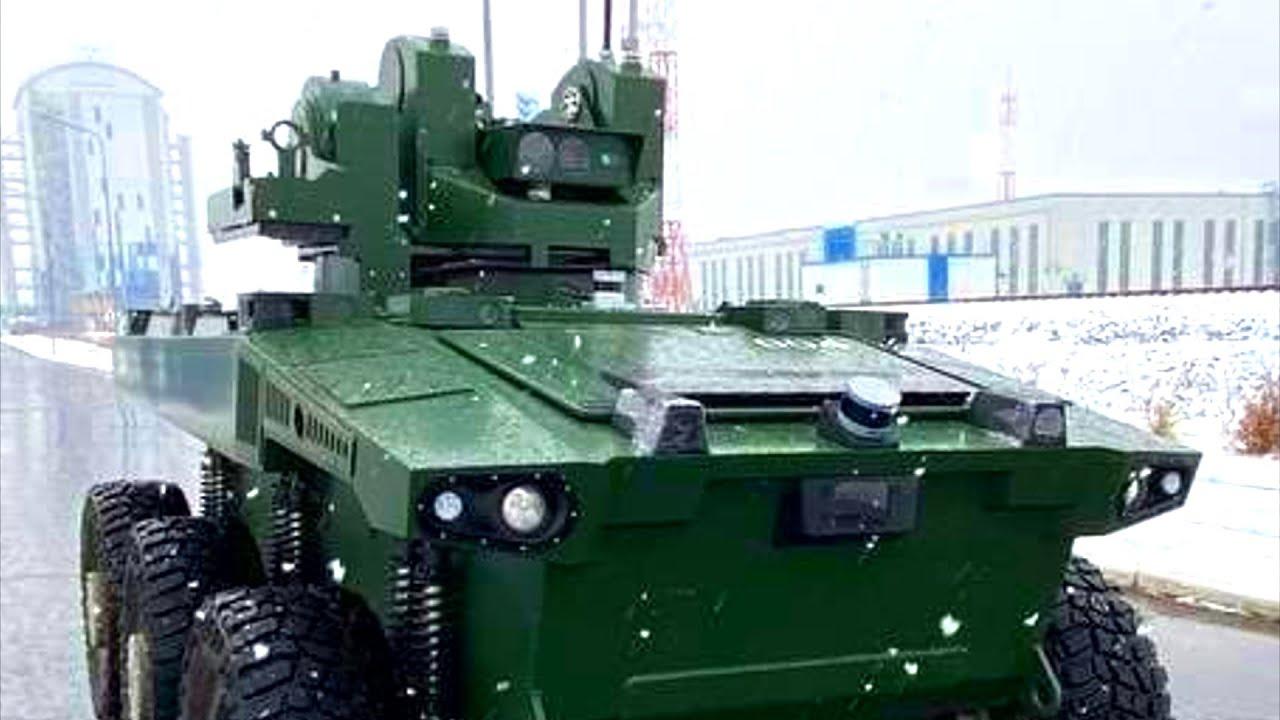 Российский робот Маркер начал охрану космодрома Восточный