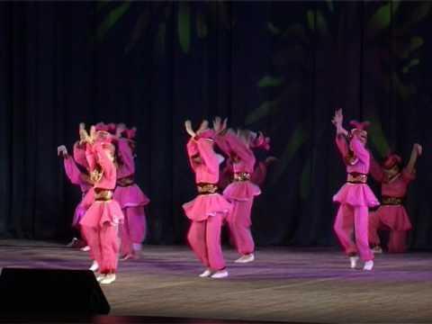 """Казахский танец """"Гульдер"""". Ансамбль танца народов мира """"Мечта"""", г. Омск"""