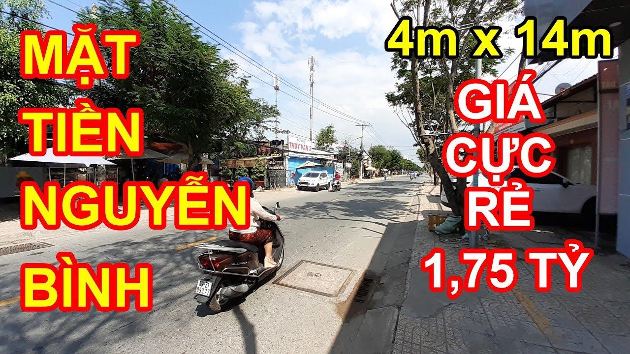 Nhà Mặt Tiền Đường Nguyễn Bình Thị Trấn Nhà Bè Giá Cực Rẻ 1,75 tỷ   Bất Động Sản Nhà Bè