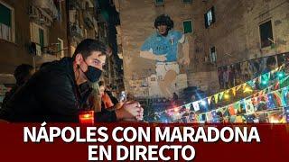 MUERE MARADONA I NÁPOLES EN DIRECTO I Diario AS