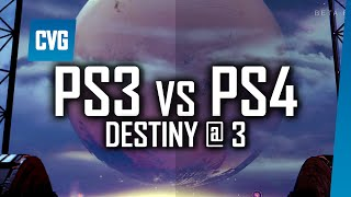 Destiny PS3 vs PS4 Comparison | Destiny @ 3