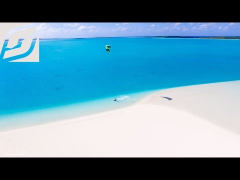Best Kitesurfing Island in the world - Aitutaki, Cook Island
