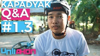Road Bike sa Trail, 1x10 vs 3x8, Phantom Rise Full Sus, Crimson Claw Hubs - Kapadyak Q&A #1.3