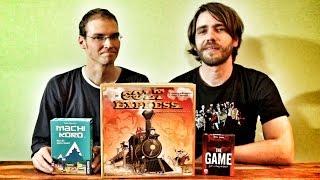 Spiel des Jahres 2015: Nominiert sind Machi Koro, Colt Express und The Game