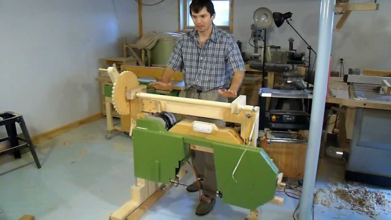 Building my portable hobby sawmill