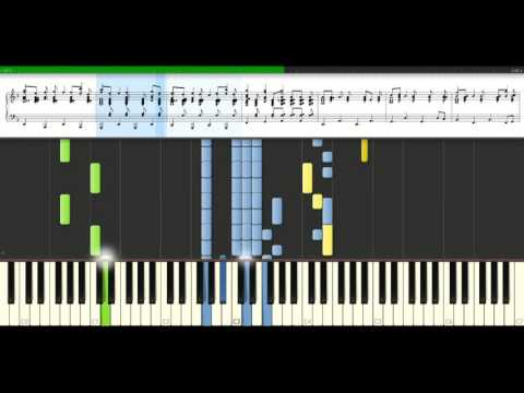 Alexander Rybak - Fairytale [Piano Tutorial] Synthesia