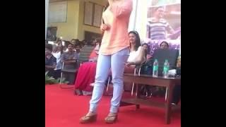 Aarya Ambekar  Ti Sadya Kay Karte Marathi Movie  2016