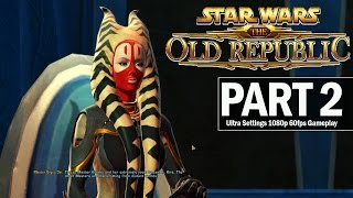 Star Wars: The Old Republic Walkthrough Part 2 Jedi Temple - Let