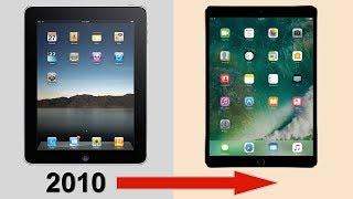 History of the iPad 2010-2017