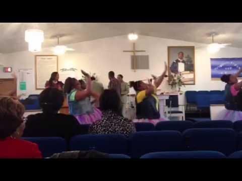 N.G.L.I.M youth praise dancing to Judah, By Detrick Haddon