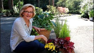 How to plant Long lasting Fall containers!/Garden Style nw