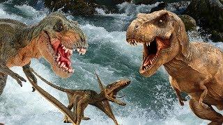 ЖИЗНЬ ДИНОЗАВРОВ Сборник мультиков про динозавров гиганотозавры тираннозавры карнотавры и др