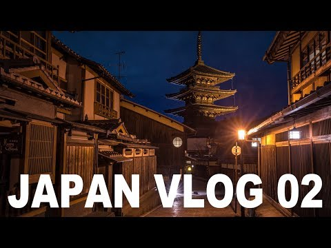 Japan Vlog Eps  2 Exploring Kyoto at night