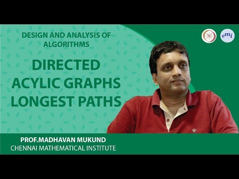 Directed acylic graphs: longest paths