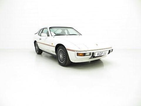 One of Only 100 in RHD, An Award-Winning Porsche 924 Le Mans with Huge History - SOLD!