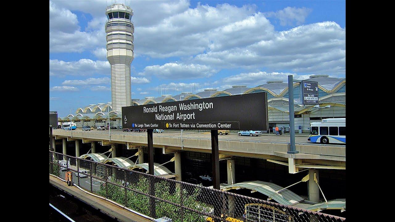 Washington D C Reagan National Airport Youtube