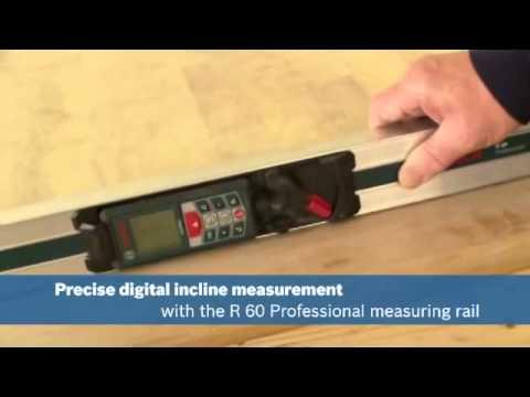 Видео обзор: BOSCH R60 Направляющая шина