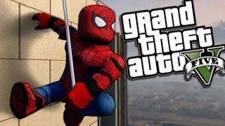 GTA 5 Mods - ROBLOX SPIDERMAN MOD (GTA 5 PC Mods Gameplay)