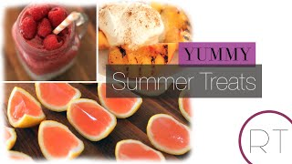 Yummy Summer Treats | Rachel Talbott