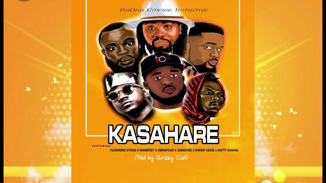 Ratty Ghana ft Sarkodie x Obrafour x Manifest x Flowking Stone x Kwaw Kesse - Kasahare (Audio Slide)