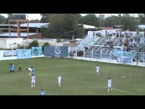 Deportivo Aguilares 2 Altos Hornos Zapla 0, primer gol del celeste, Luis Gómez