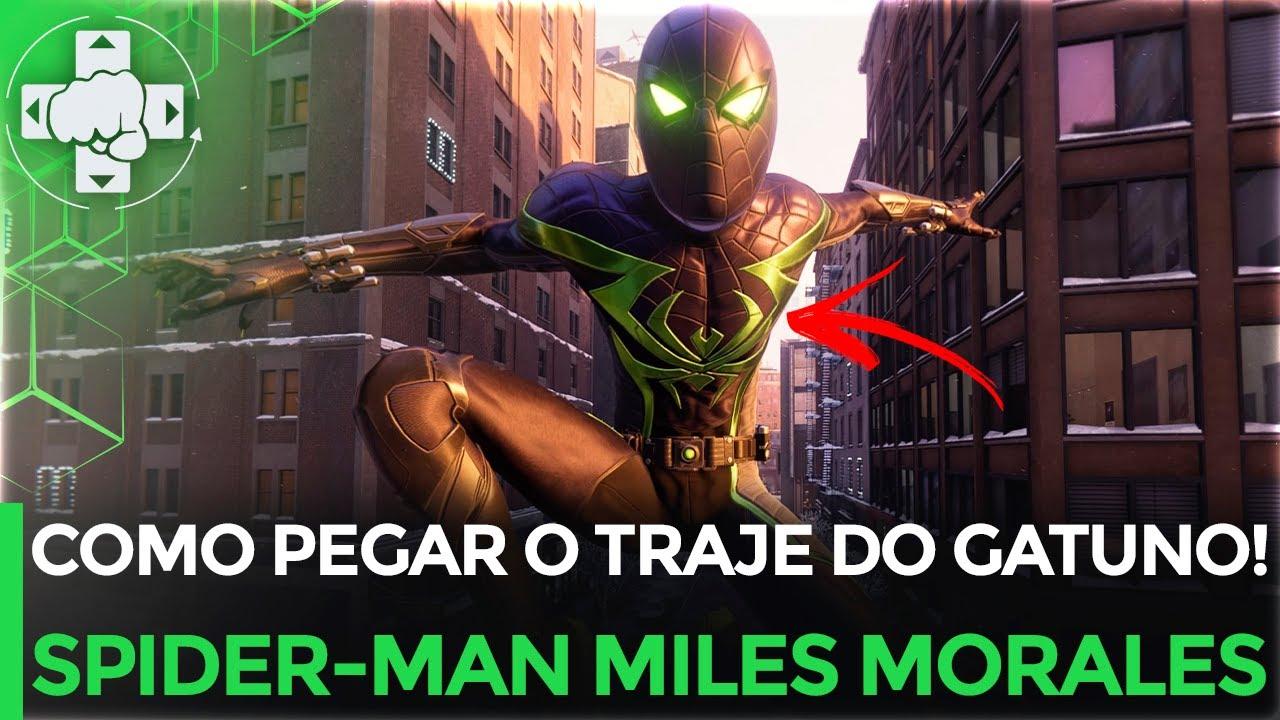 COMO CONSEGUIR O TRAJE DO GATUNO (PROWLER) EM SPIDER-MAN MILES MORALES