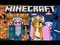 Minecraft - Little Lizard - YOUTUBER LUCKY BLOCKS WAR (LITTLE KELLY, LITTLE LIZARD, SHARKY)