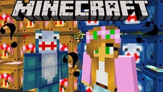 Minecraft - Little Lizard - YOUTUBER LUCKY BLOCKS WAR (LITTLE KELLY, LITTLE LIZARD, SHARKY)