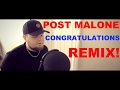 Post Malone - Congratulations ft. Quavo (REMIX) download for free at mp3prince.com
