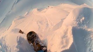 GoPro: Ralph Backstrom – Sunset Powder