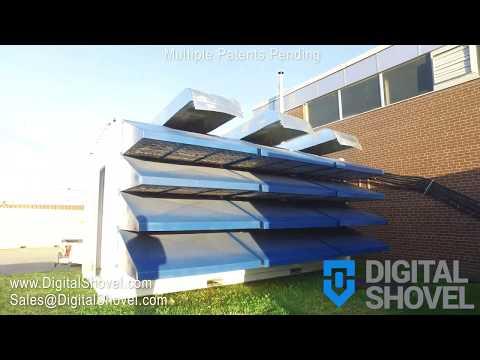 Digital Shovel - 20Ft - 600 ASIC - 900 KW Capacity Mining Container