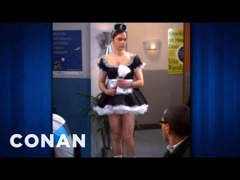 Jim Parsons Almost Rocked Princess Leia's Slave Bikini - CONAN on TBS