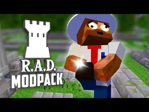 ALDRIG MER ONT I FOTEN!   R.A.D Modpack - #15