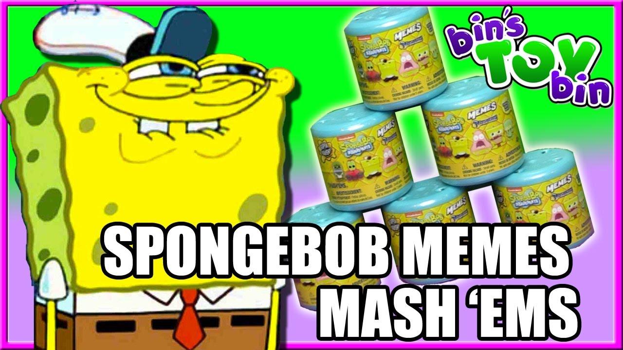 Spongebob memes mash ems bins toy bin