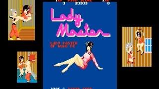LADY MASTER of kung fu(レディーマスター)TAITO 1985 reto game