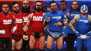 WWE Survivor Series 2018: Team RAW vs Team SmackDown | WWE 2K19