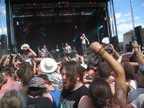 August Burns Red White Washed Rockfest Montebello 2014 In The Pit