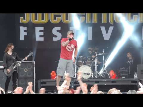All That Remains - Stand Up, Sweden Rock 2015 (sound Problems On Stage)