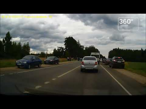 Видео с места смертельного ДТП в Рузском районе Подмосковья появилось в Сети