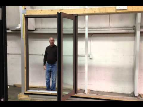 2 Panel Bifold Doors Manufactured For Say Beignet Coffee Wine Bar Bolingbrook Il