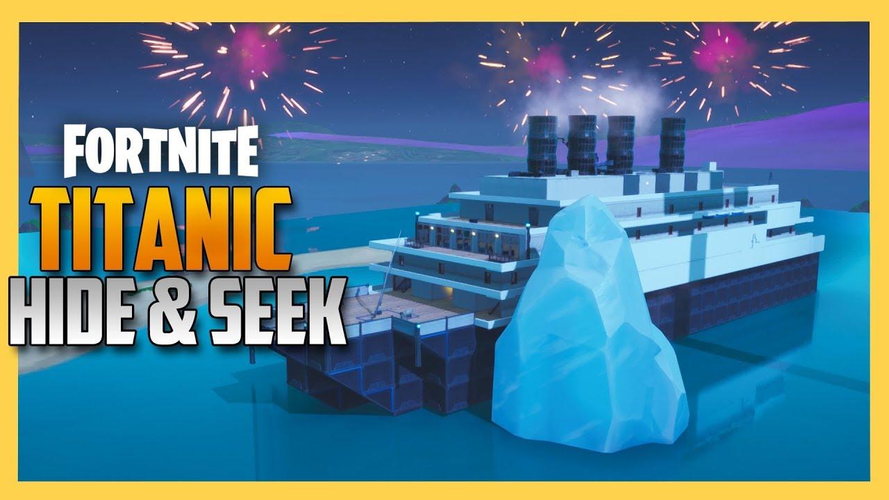 Fortnite Hide and Seek on the TITANIC | Swiftor - Vloggest