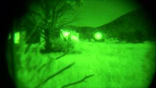 Night Ambush on Airsoft Armored Vehicle
