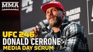 UFC 246:  Donald Cerrone Media Day Scrum - MMA Fighting