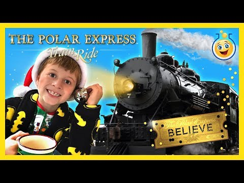 Thumbnail: TRAIN RIDE TO SEE SANTA CLAUS! The Polar Express w/ Christmas Surprise Present Kid Family Fun Event