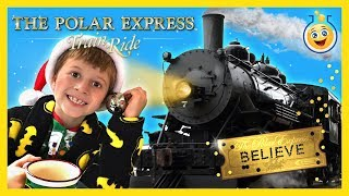 TRAIN RIDE TO SEE SANTA CLAUS! The Polar Express w/ Christmas Surprise Present Kid Family Fun Event