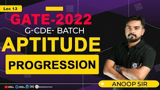 Progression || LIVE @19th April 09:30 PM || by - Anoop Sir