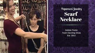 Paparazzi Jewelry Scarf Necklace Thumbnail