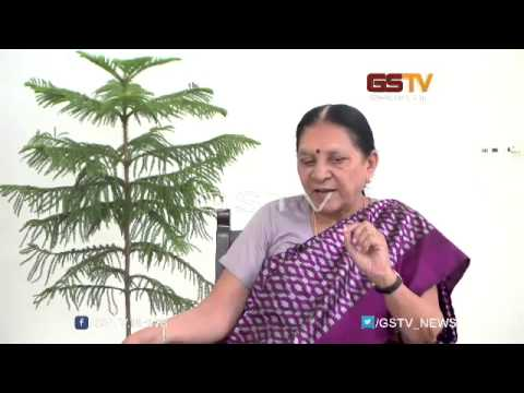 Exclusive : Gujarat CM Anandiben Patel discussed one year of her government